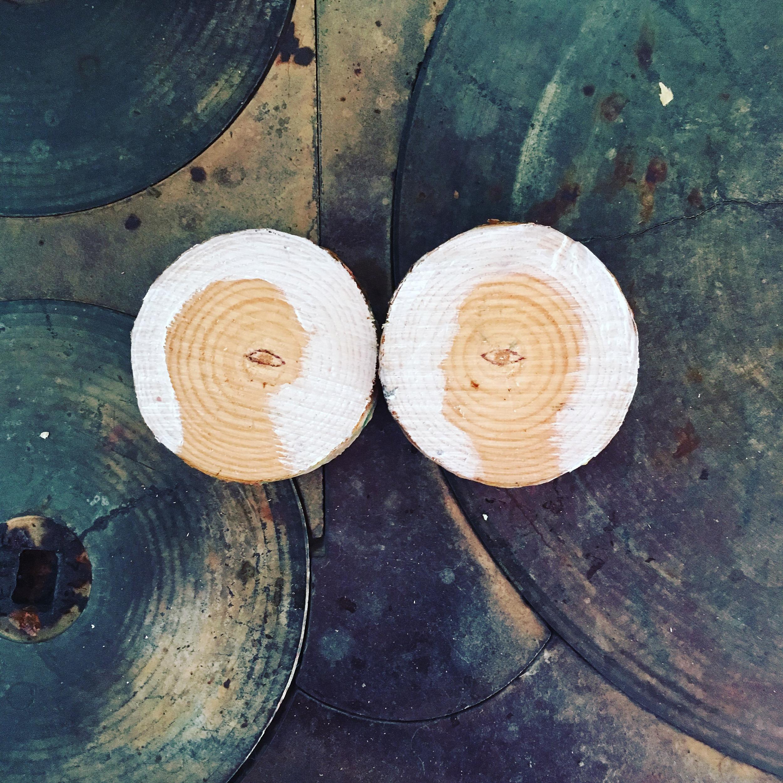 Antía Sánchez. Eyes on wood