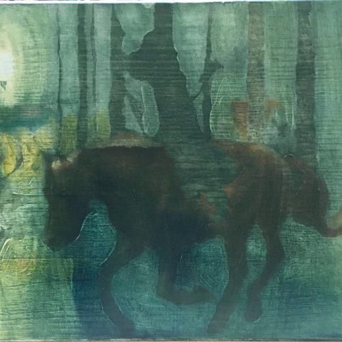 Antía Sánchez. New painting sami